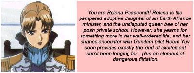 I'm Relena Peacecraft